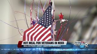 Salvation Army hosts Veterans dinner - Video