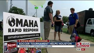 Soccer Tournament Helps Houston - Video