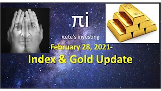 Index and Gold update Feb 28 2021
