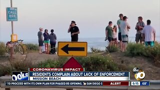 Neighbors worry about beach parties violating social distancing