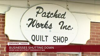 Businesses shut down as Wisconsin's 'Safer at Home' order goes into effect
