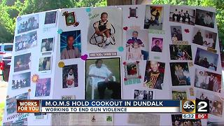 M.O.M.S. hold cookout to remember children killed - Video