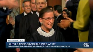 Arizona Remembers Supreme Court Justice Ruth Bader Ginsburg