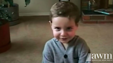 Two-Year-Old Boy Does An Adorable Cover Of Elvis Classic, Goes Viral