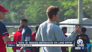 Lane Kiffin impressed with Weis Jr. - Video