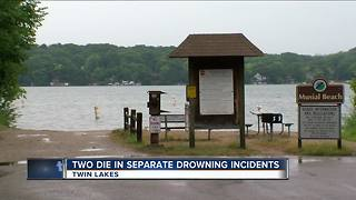 Two die in separate drowning incidents - Video