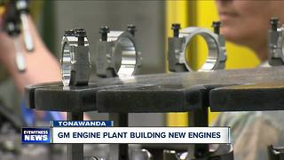 Tonawanda General Motors Engine Pant manufacturing essential components for Chevy Silverado