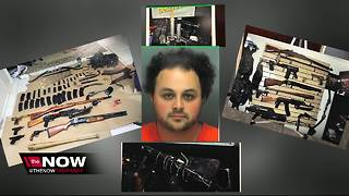Randall Drake: Dunedin man arrested after explosives, guns, school maps and more found in his home - Video