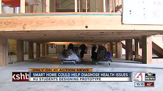 KU students building 'smart home' for health