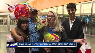 Nampa family adopts Ukrainian teens after two years