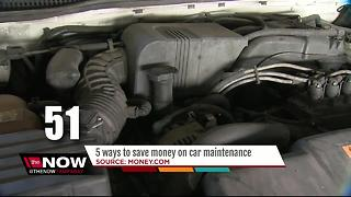 5 ways to save money on car maintenance - Video