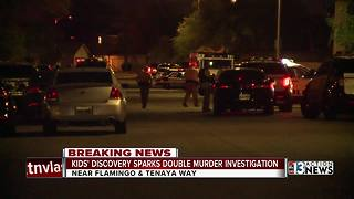 Police continue investigating double homicide - Video