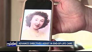Advance directives assist in end-of-life care