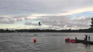 Flyboard Company Gives Demonstration at Event in Florida - Video