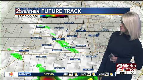 2 Works for You Friday Morning Weather Forecast