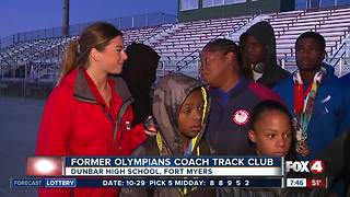 Former Olympian coaches Olympia Track Club - Video