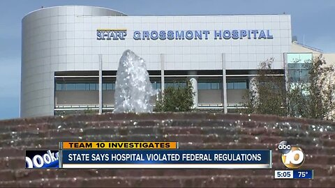 State says hospital violated federal regulations