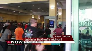 Disaster SNAP: Last day for Food For Florida disaster food assistance program in Polk County - Video