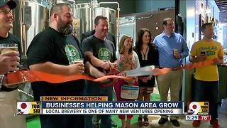 Businesses helping Mason area grow - Video