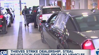 Cars broken into at Troy car dealership - Video