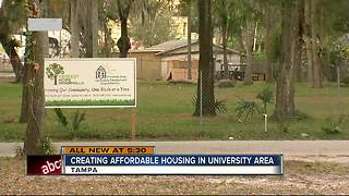 University Area getting new, affordable housing for low-income single parents - Video
