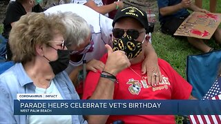 South Florida veteran receives birthday surprise