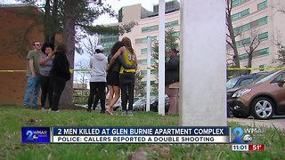 Police find two men dead after responding to double shooting at Glen Burnie apartment complex
