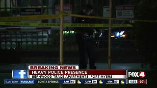 Heavy police presence at Fort Myers apartment complex