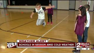 Some Green Country schools stay open despite most closing - Video