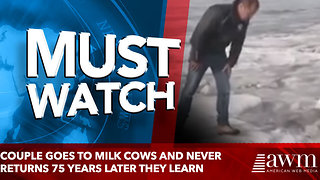 WORLDCouple Goes To Milk Cows And Never Returns. 75 Years Later Children Finally Learn The Truth - Video