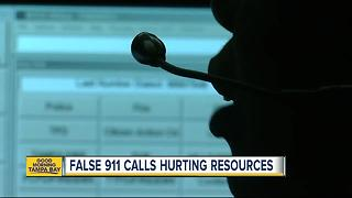 Butt-dials causing problems at Hillsborough County 911 Command Center - Video