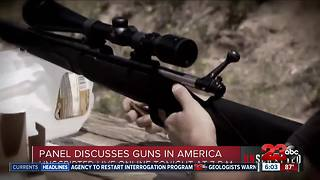 UNSCRIPTED: Panel to discuss guns in America - Video