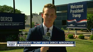 President Trump discusses Military and Manufacturing during Milwaukee visit