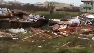 Hurricane Irma Leaves Trail of Destruction After Pounding Anguilla - Video