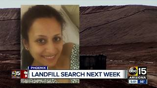 Phoenix confirm landfill search for Christine Mustafa - Video