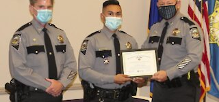 NHP Trooper honored with medal of valor
