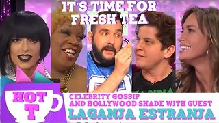 Laganja Estranja on Hey Qween HOT T SEASON FINALE: Celebrity Gossip And Hollywood Shade Episode 6 - Video