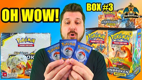 Pokemon Unbroken Bonds Booster Case Opening (Box 3) (Charizard Hunting)