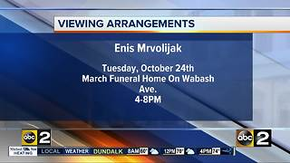 Viewing announced for Edgewood shooting victim Enis Mryoljak - Video
