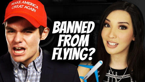 Nick Fuentes on NO-FLY LIST?? BANNED FROM FLYING!