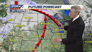 Warmer Friday, highs in the 40s - Video