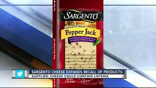 Sargento extends cheese recall due to possible contamination - Video