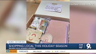 Small business, Creative Kind, asks folks to shop local