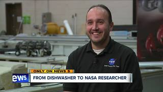 From dishwasher to NASA researcher, immigrant's inspirational story of success comes full circle - Video