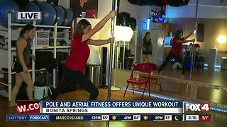 Pole and Aerial Fitness offers unique workout experience - 8am live report - Video