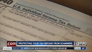 Protecting your tax refund from scammers - Video