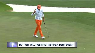 PGA Tour makes it official: tour event is coming to Detroit - Video
