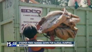 Illegal dumping increase results in higher fines from city - Video