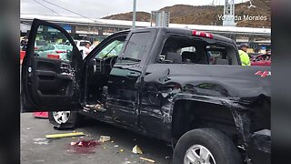 Witness to U.S.-Mexico border crash describes chaos in Tijuana