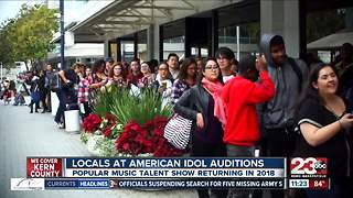 Locals at American Idol Auditions - Video